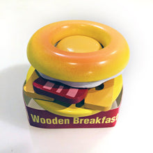 Load image into Gallery viewer, Wooden Breakfast Bagel - teach kids about food Portland Toy Store
