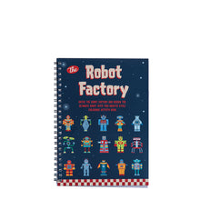 Load image into Gallery viewer, THE ROBOT FACTORY COLOUR IN FLIP BOOK