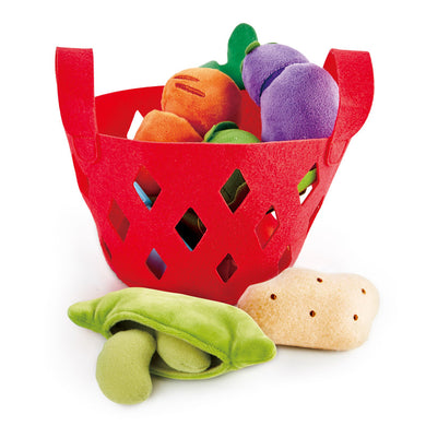 Vegetable Set with Basket -7 pc