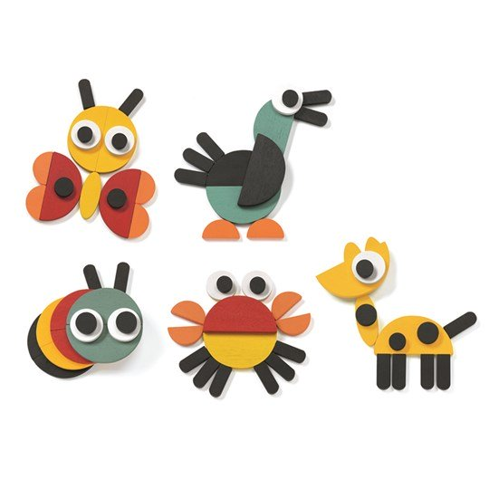 Ze Geoanimo Wooden Animals