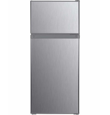 ED-RF128SS Eurotech 128L Top Mount Fridge Freezer