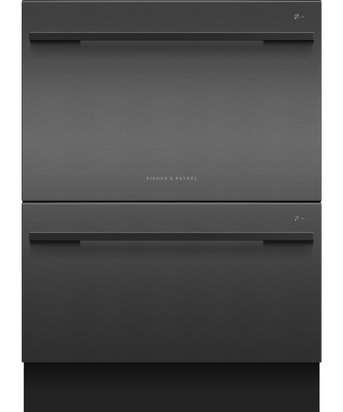 Fisher & Paykel DD60DDFB9 Designer Double DishDrawer Black