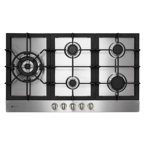 Parmco HO-6-9S-4GW Stainless Steel Gas Hob