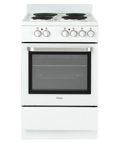 Haier HOR54S5CW1 Freestanding Electric Solid Plate Stove