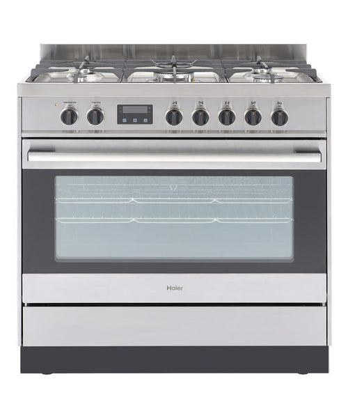 Haier HOR90S9MSX1 138L Stainless Freestanding Electric Oven/Gas Cooktop