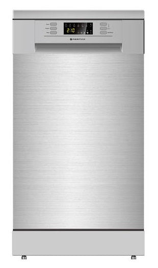 Parmco PD45-SLIM-SS-2 Stainless Dishwasher