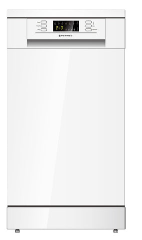 Parmco PD45-SLIM-W-1 White Dishwasher