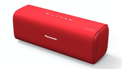 Panasonic SC-NA07GN-R  Portable Bluetooth Speaker - Red