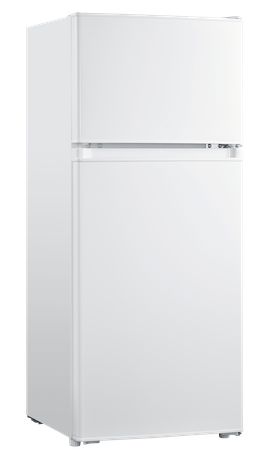 Eurotech ED-RF128WH 128L Top Mount Fridge Freezer