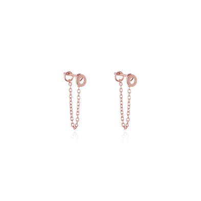 The Chain Two-Way Stud Earrings