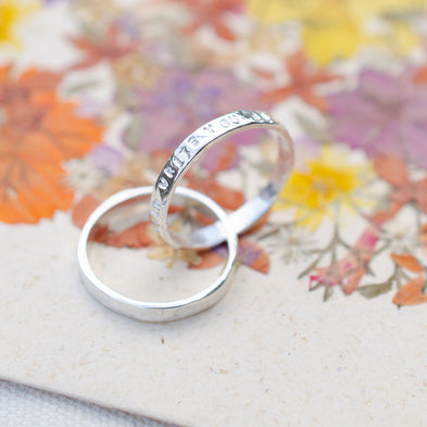 Personalised Crossroads Infinity Interlinked Ring