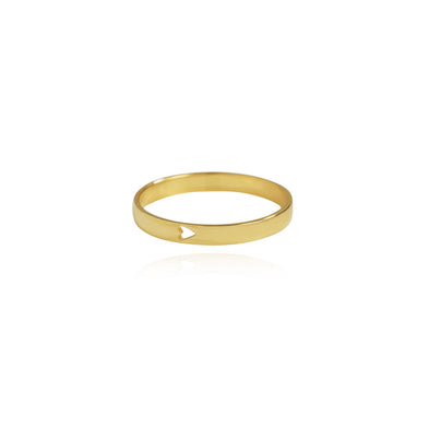 Personalised Feel The Love Ring