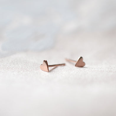 Just The Two Of Us Two-Way Chain Stud Earrings