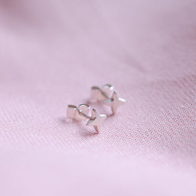 Stellar Star Stud Earrings