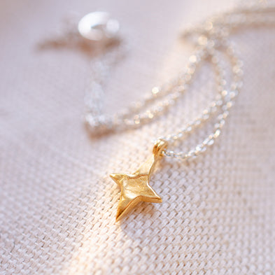 Personalised Wandering Star Necklace