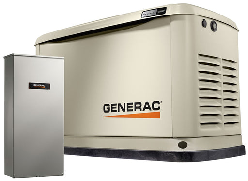 Generac Guardian 10kW Home Backup Generator with 16-circuit Transfer Switch WiFi-Enabled Model #7172