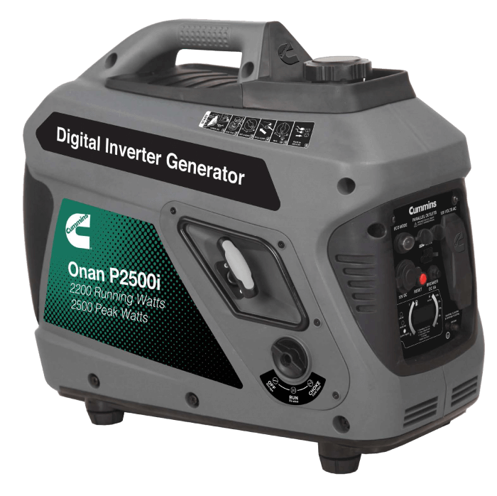 Cummins Onan P2500i Inverter Portable Generator