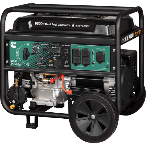 Cummins Onan P9500df Dual Fuel (Gas/LPG) Portable Generator
