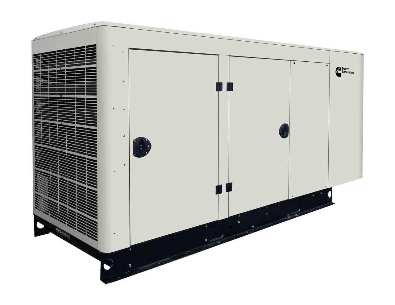 Cummins Power Quiet Connect 100kW Liquid Cooled Standby Generator Three Phase RS100