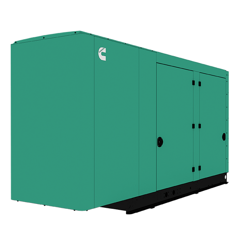 Cummins Power Quiet Connect 125kW Natural Gas Liquid Cooled Standby Generator Single Phase RS125