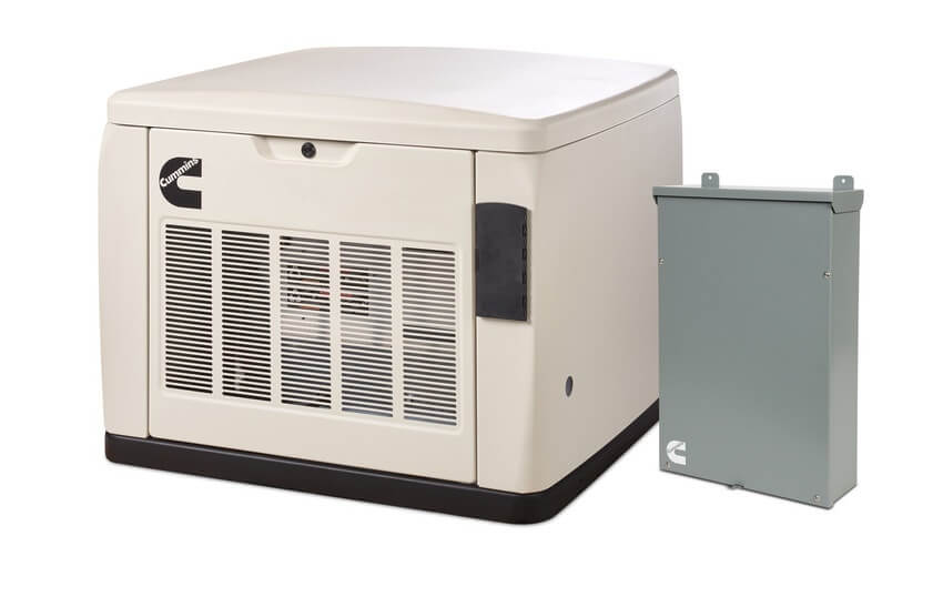 Cummins RS20ACE 20KW Quiet Connect Extreme Weather Generator with 200A SE Transfer Switch