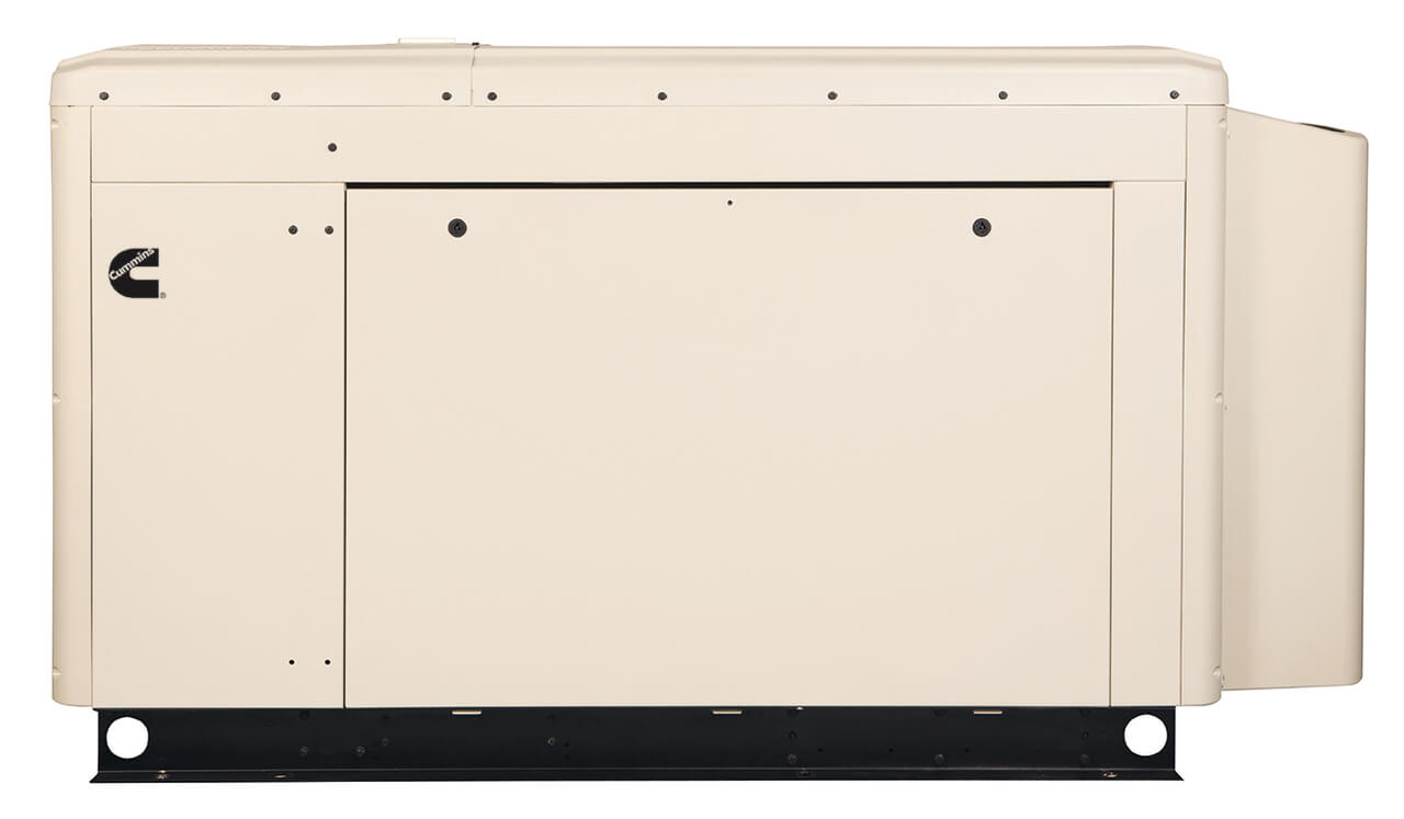 Cummins Power Quiet Connect 40kW Liquid Cooled Standby Generator Three Phase RS40