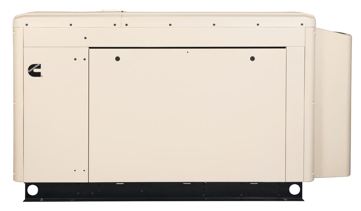 Cummins Power Quiet Connect 25kW Liquid Cooled Standby Generator Single Phase | RS25 120/240V