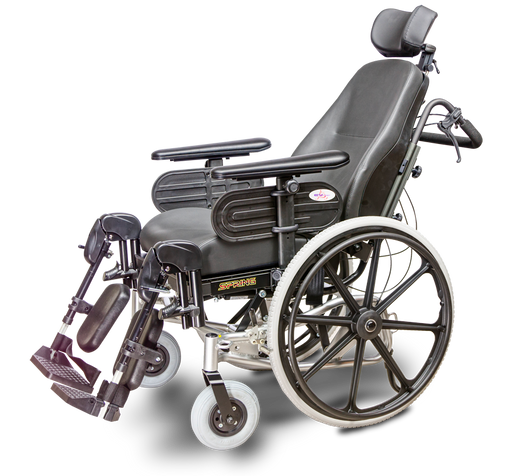 EV Rider Spring Manual Wheelchair