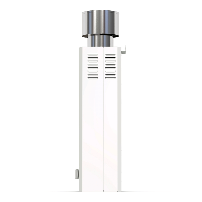 Eccotemp L10 Portable Outdoor Tankless Water Heater w/ EccoFlo Diaphragm 12V Pump , Strainer & Shower Set