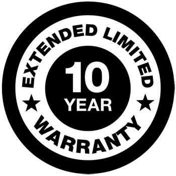 10 Year Extended Warranty for Generac Guardian Air Cooled Standby Generators 9-24kW