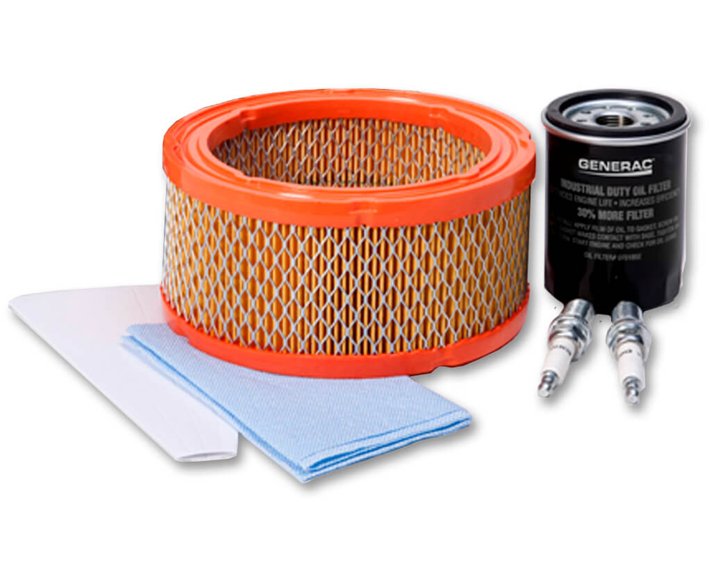 Generac 5662 Maintenance Kit, 8kW, 410cc Kit (For HSB models prior to 2013)