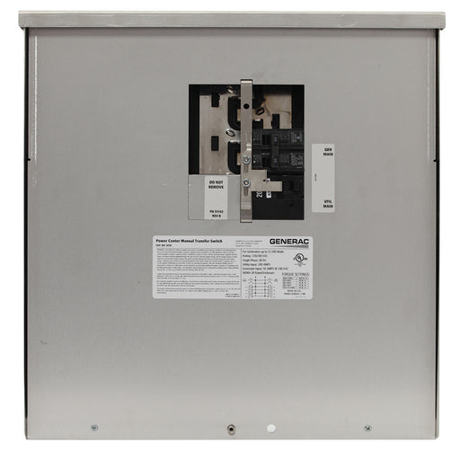 200-Amp Manual Transfer Switch #6335