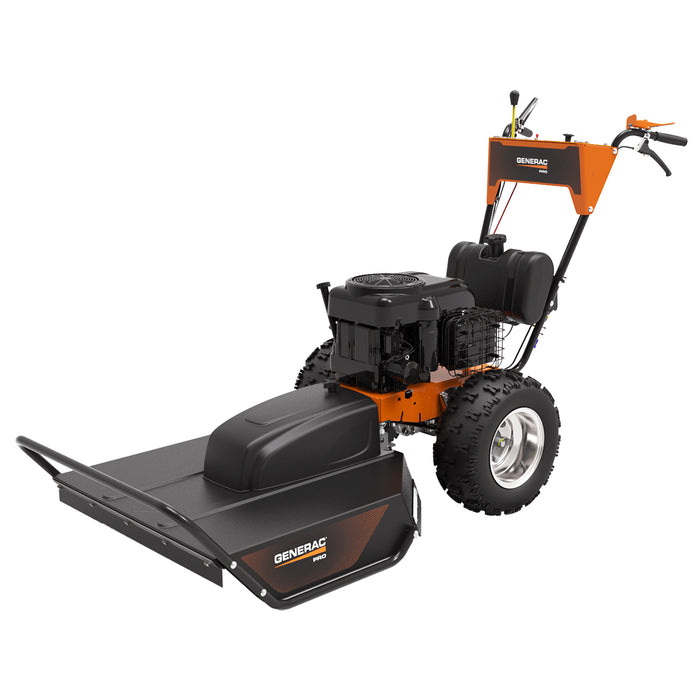 "Generac PRO AT47030GENG - 30"" 18.67 HP Walk-Behind Field and Brush Mower with Pressurized Lubrication"