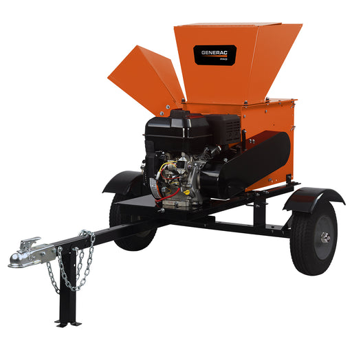 Generac PRO 19.8 FPT Chipper/Shredder with Road Tow Kit #CS27050GENG