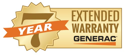 Generac 7 Year Air Cooled Extended Limited Warranty Extension #DEW-EXWAR100002