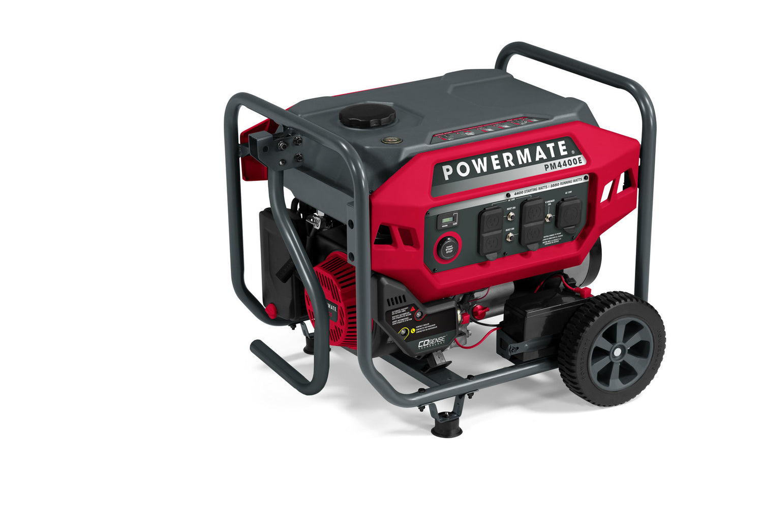 Powermate PM4400E - 4,400 Watt Electric Start Portable Generator, 49-ST. #P0079800