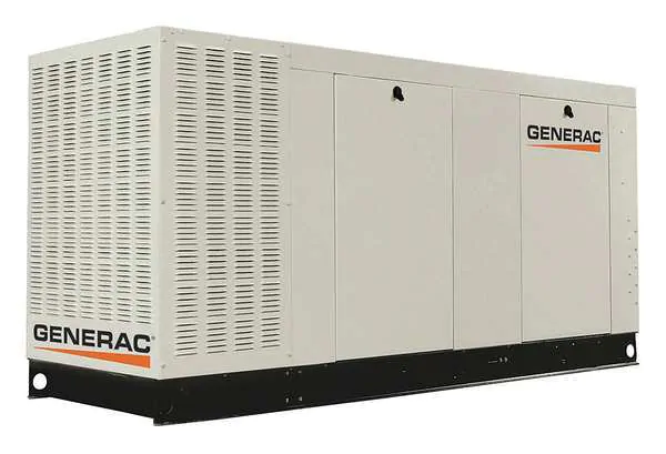 Generac Commercial Series 100kW Standby Generator (120/240V 3-Phase)(LP) SCAQMD Compliant #QT10068JVAC