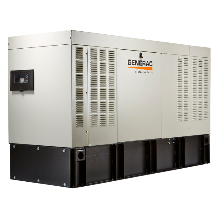 Generac Protector 30kW Automatic Standby Diesel Generator with Extended Run Tank (120/240V 3-Phase) #RD03022JDAL