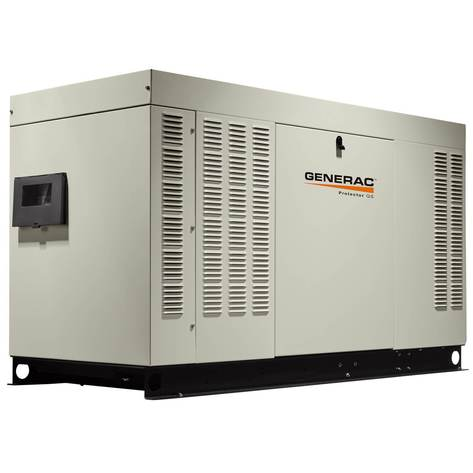 Generac Protector® QS Series 38kW Automatic Standby Generator (120/208V 3-Phase) #RG03824GNAX