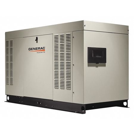 Generac Protector 48kW Natural Gas or Propane Standby Generator 120/240-Volt Single Phase | RG04845ANAX
