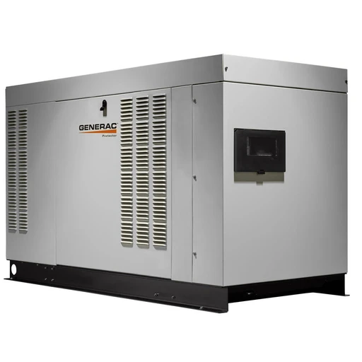 Generac Protector® QS Series 48kW Automatic Standby Generator (120/208V 3-Phase) #RG04845GNAX