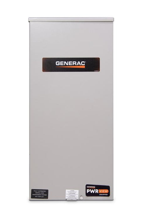 Generac 200-Amp PWRview™ Automatic Smart Transfer Switch w/ Power Management & HEMS (Service Disconnect) #RXEMW200A3