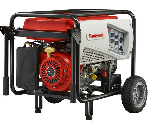 Honeywell 7,500 Watt 420cc OHV Portable Gas Powered Generator With Electric Start #6039