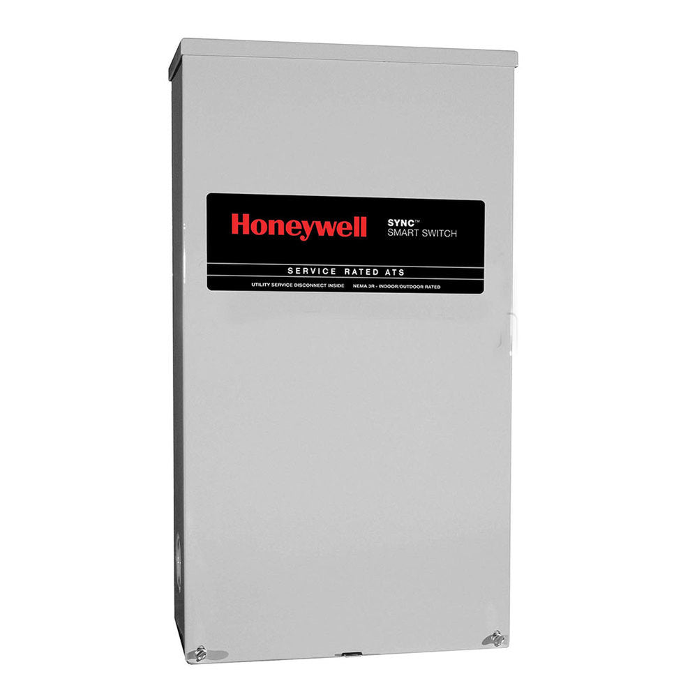 Honeywell™ 400-Amp SYNC™ Smart Automatic Transfer Switch w/ Power Management #RTSK400A3