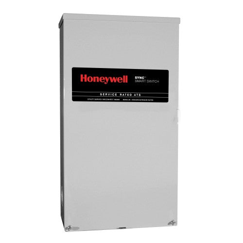Honeywell™ 300-Amp SYNC™ Smart Automatic Transfer Switch w/ Power Management (Service Disconnect) #RTSM300A3