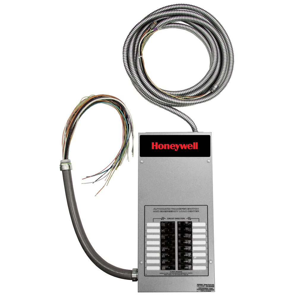 Honeywell™ 100-Amp Indoor Automatic Transfer Switch w/ 16-Circuit Load Center #RXG16EZA1H