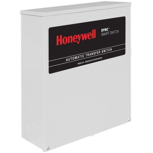 Honeywell™ 200-Amp SYNC™ Smart Automatic Transfer Switch w/ Power Management #RXSK200A3