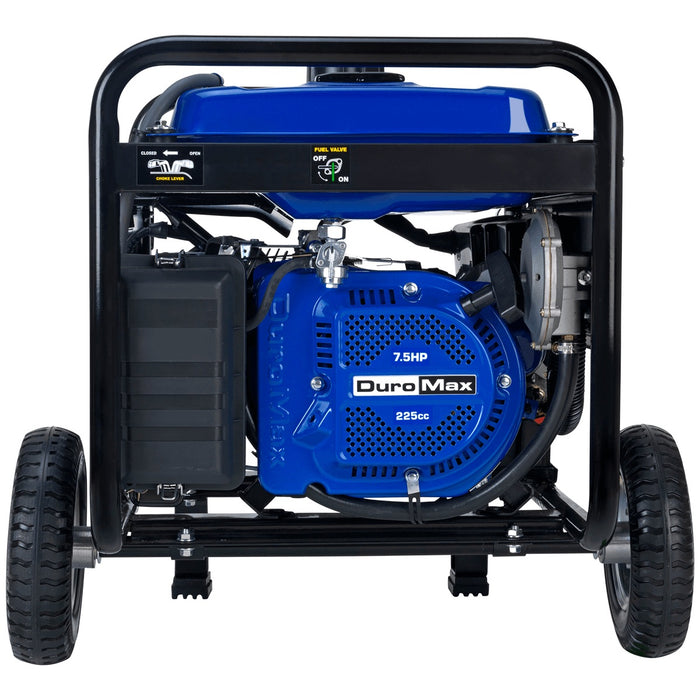 DuroMax XP5500EH 5500-Watt Electric Start Dual Fuel Hybrid Portable Generator