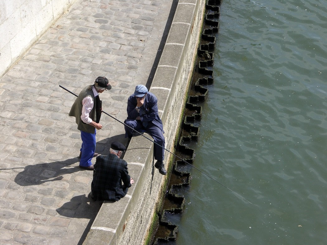 Fishing The Seine