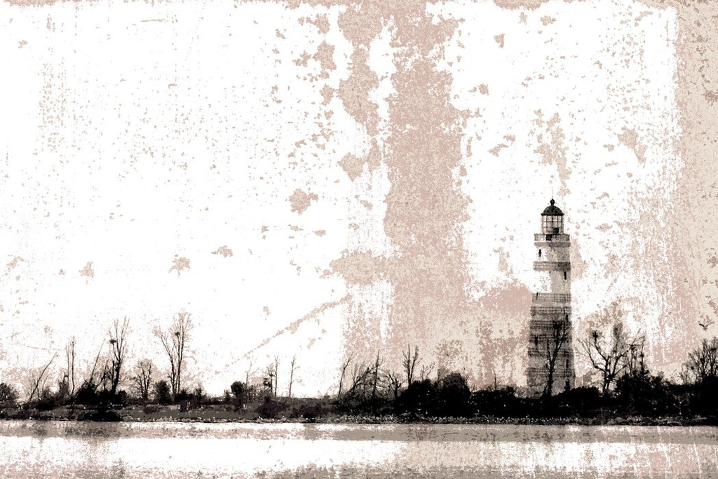 Lighthouse in Sepia